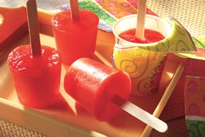JELL-O Strawberry Gelatin Pops