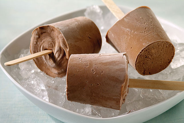 Creamy Chocolate JELL-O Pudding Pops