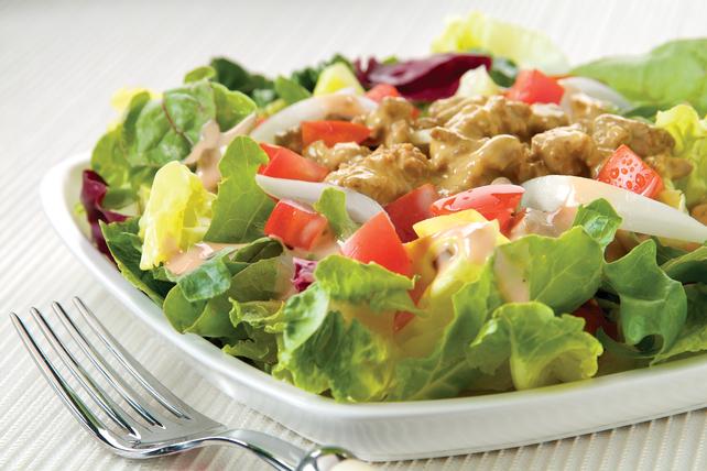 Cheesy Beef Salad Image 1