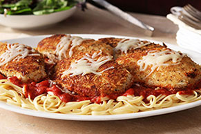 Chicken Breasts Parmesan