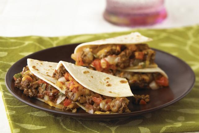 Quesadillas rapides à saveur de tacos Image 1