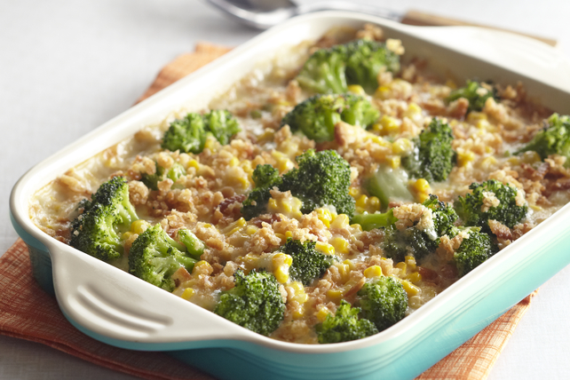 Casserole de brocoli et de maïs au gratin Image 1