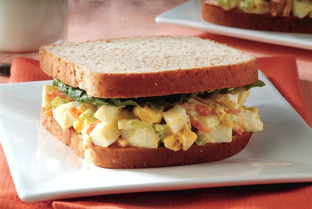 Egg Salad Sandwiches Image 1