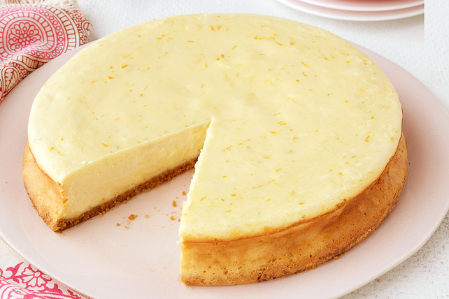 Triple-Citrus Cheesecake Image 1