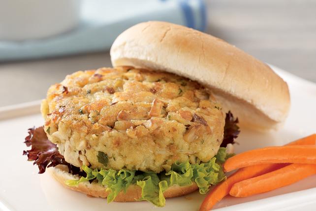 Cheesy Tuna Burgers Image 1