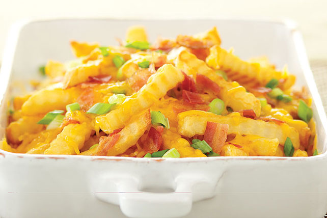 Bacon Cheese Fries Image 1