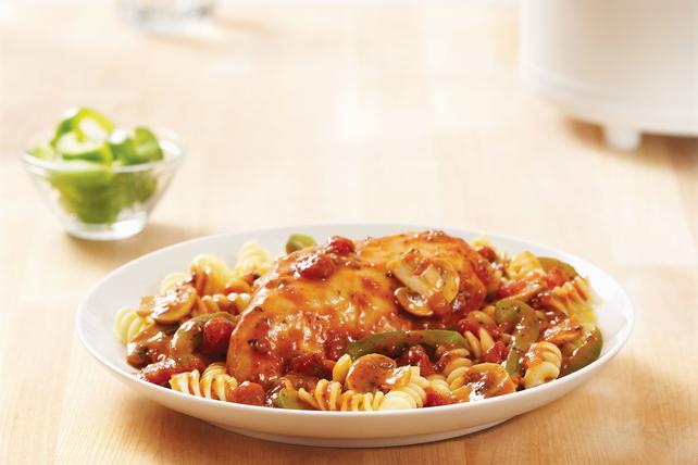 Simple Slow-Cooker Chicken Cacciatore Recipe Image 1