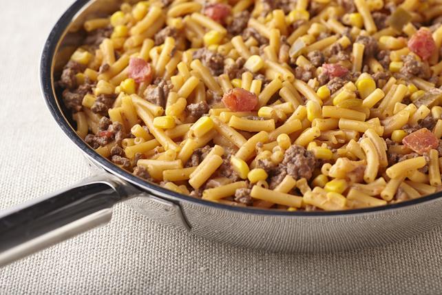 Macaroni et fromage au bœuf tex-mex Image 1