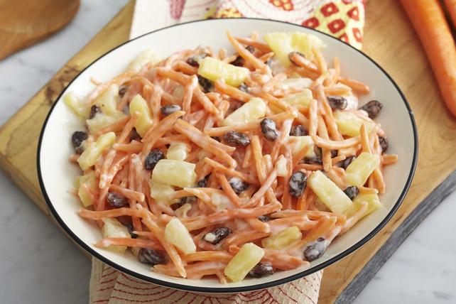 Salade de carottes et de raisins secs Image 1