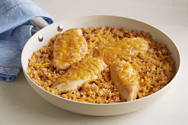 15-Minute Chicken and Rice Dinner Recipe Image 1