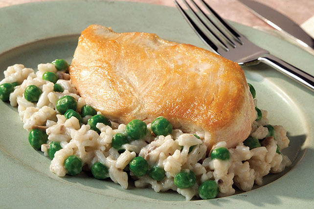 20-Minute Parmesan Chicken & Rice Dinner Image 1