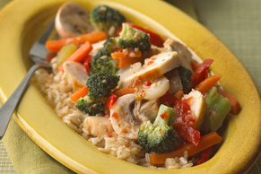 Italian Chicken & Vegetable Stir-Fry Recipe