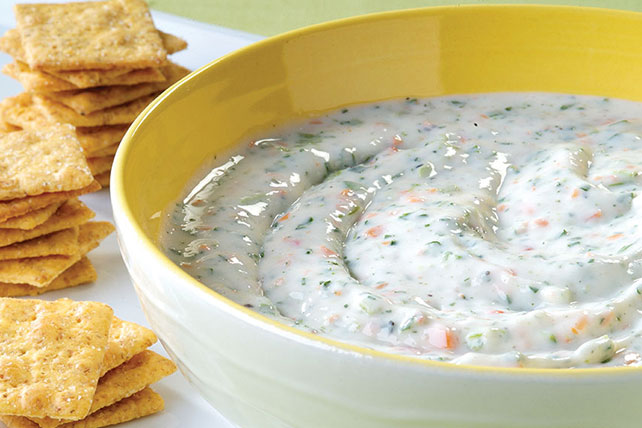 Garden Vegetable Herb Dip Image 1