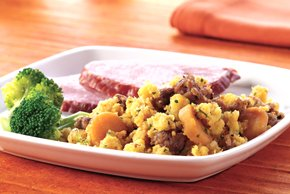 Sausage and Sweet Potato Stuffing