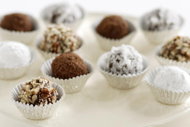 Boules de neige au chocolat et au beurre d'arachide Image 1