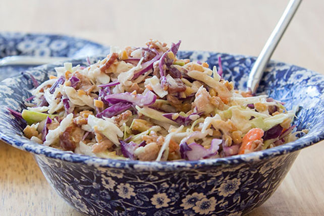 Easy Crunchy Bacon Coleslaw Image 1