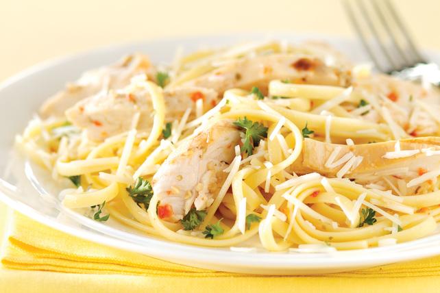 Easy Chicken & Parmesan Pasta Image 1