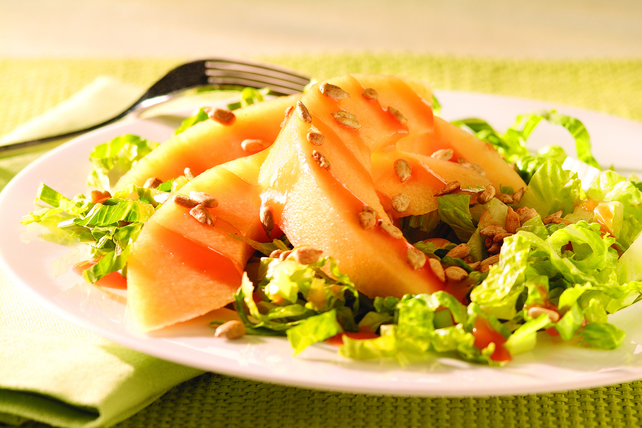 Sweet Melon & Romaine Salad Image 1