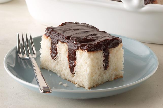 Chocolate Pudding Poke Cake Image 1