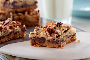Magic Cookie Bars with Chocolate Chunks