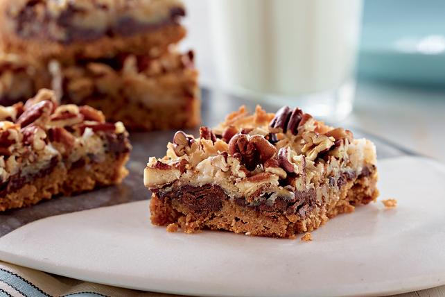 Magic Cookie Bars with Chocolate Chunks Image 1