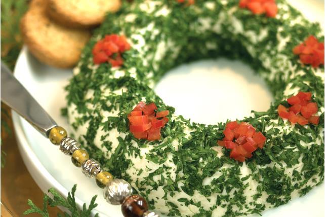Tex-Mex Cheese Wreath Image 1