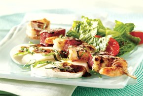Grilled Italian Shrimp