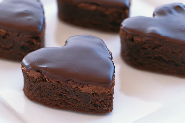 BAKER'S Mocha Brownie Sweethearts