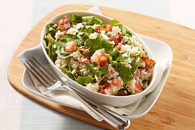 BLT Rice Salad