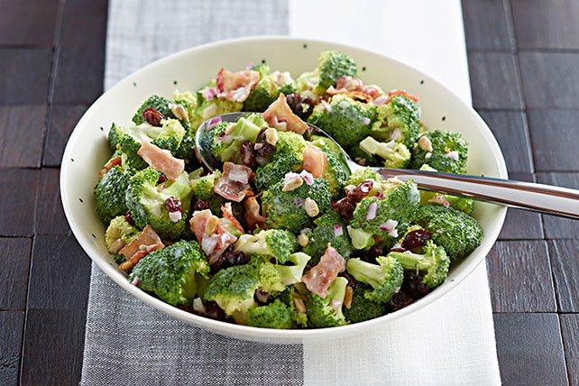 Quick Bacon, Broccoli & Raisin Salad Image 1