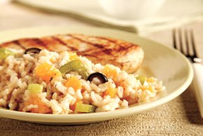 Orange Rice Salad