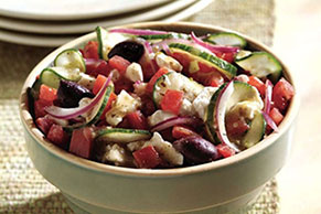 Greek Vegetable Salad
