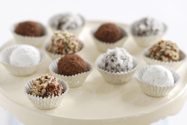 Chocolate-Peanut Butter Truffles Image 1