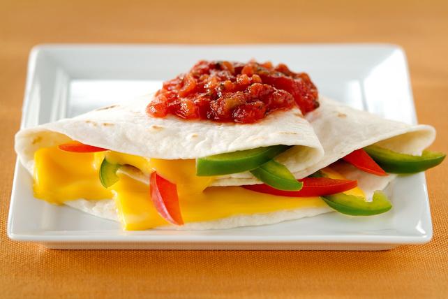 Cheesy Vegetable Quesadillas Image 1