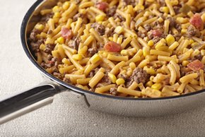 Tex Mex Beefy Mac & Cheese