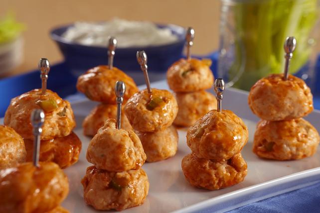 Buffalo Chicken Meatballs Image 1