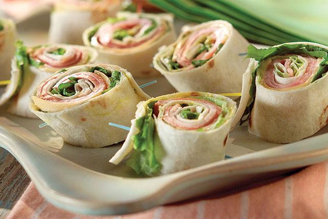 Pinwheel Mini Sandwiches Image 1