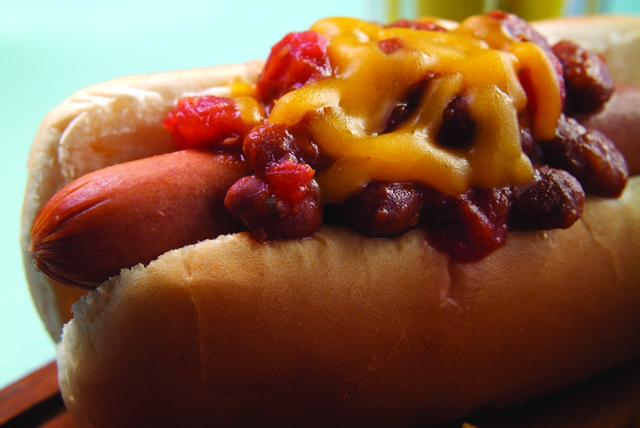 Halftime Salsa-Chili Dog Image 1