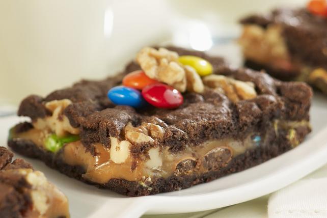 Brownies au caramel et aux noix Image 1