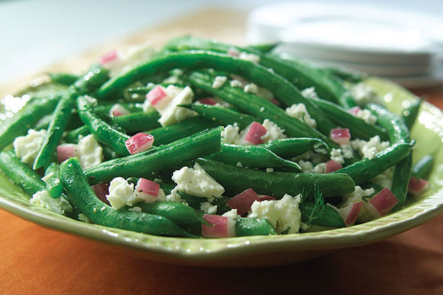 Green Bean & Feta Salad Image 1