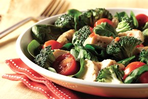 Italian Chicken & Spinach Salad