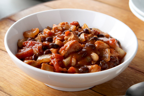 Black & White Bean Chicken Chili