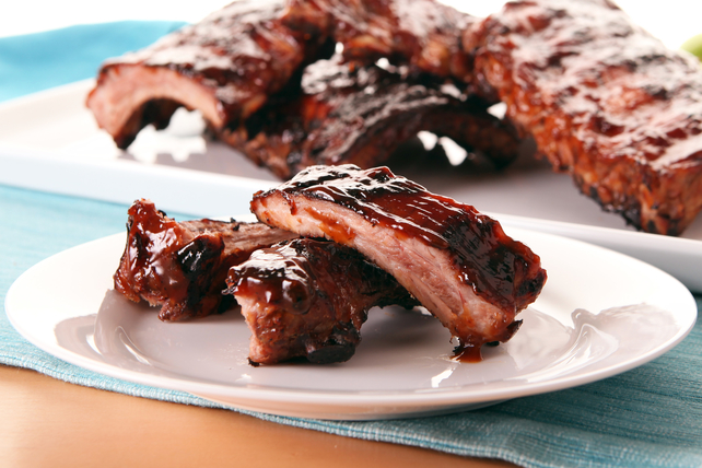 Costillitas con salsa BBQ al horno Image 1