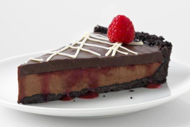 Tarte aux petits fruits et au chocolat Image 1