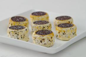 Upside-Down Mini OREO Cheesecakes