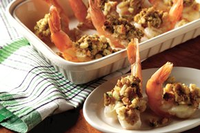 STOVE TOP Stuffed Shrimp