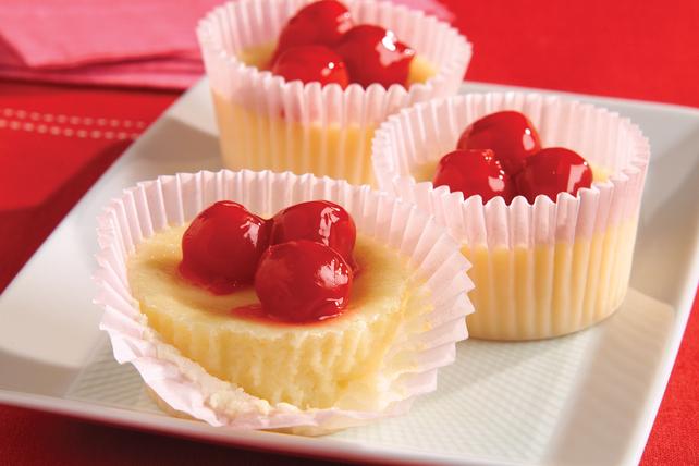 Mini-gâteaux au fromage aux cerises de Cupidon Image 1