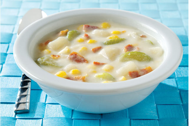 Sassy Potato Corn Chowder 50752 likewise  together with 3128 Meat Seafood together with Stew Beef moreover Bacon. on oscar mayer center cut bacon gluten free