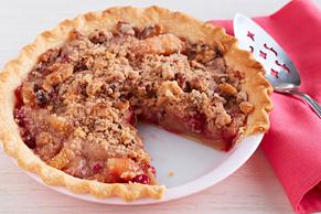 Cranberry-Apple Crumb Pie