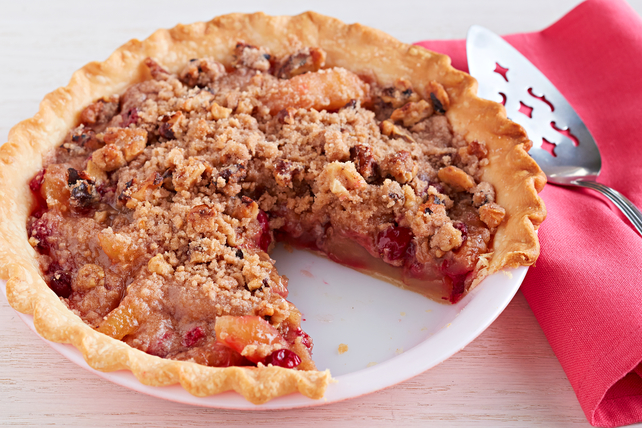 Cranberry-Apple Crumb Pie